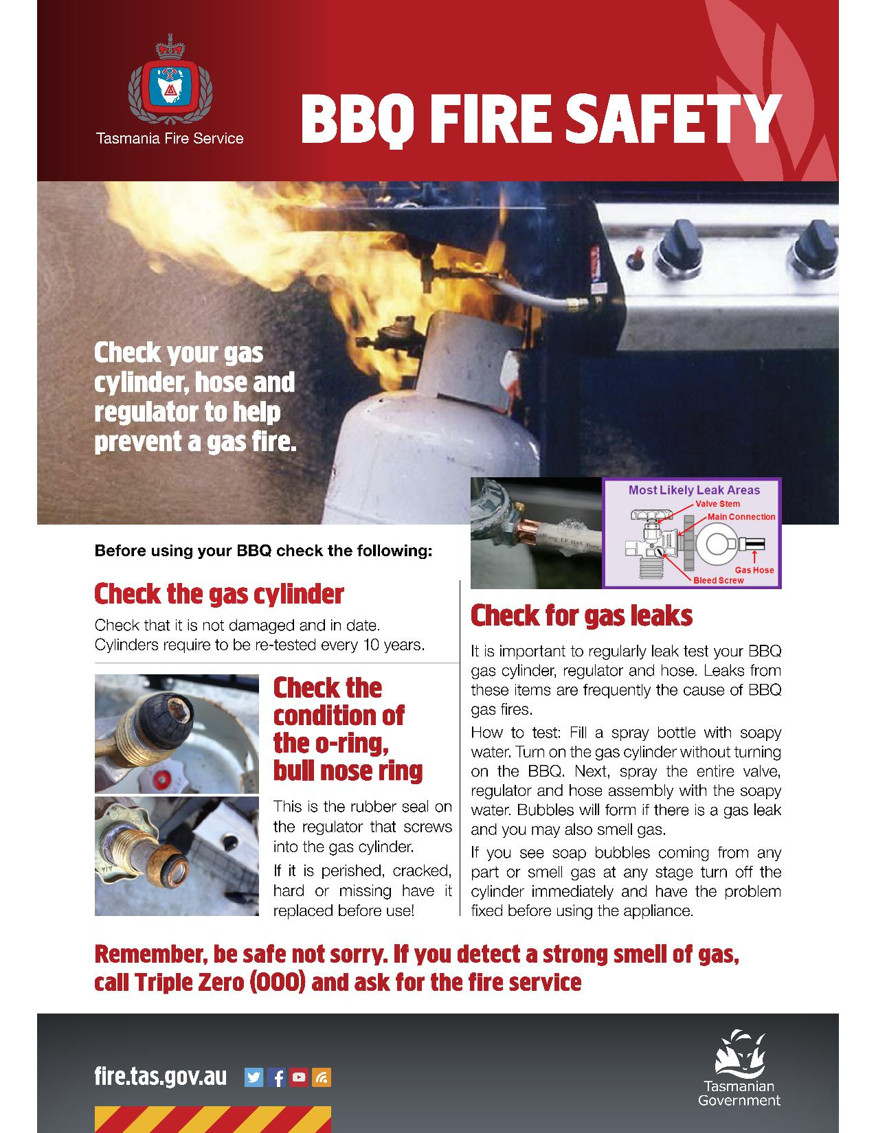 BBQ Safety Fact Sheet