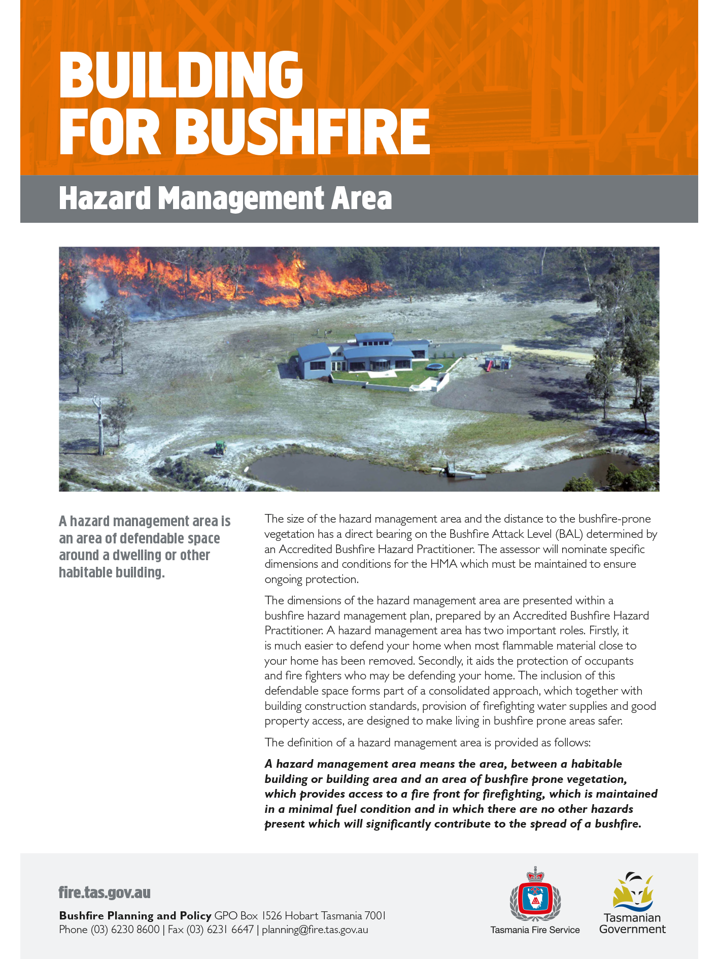 how to prepare my home to survive a bushfire