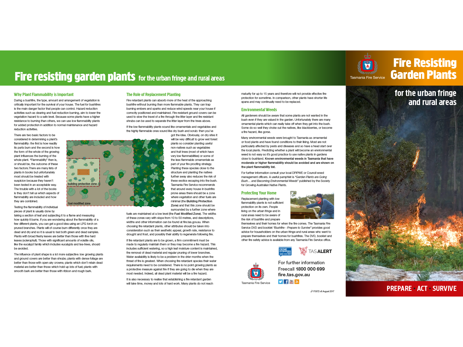 Fire Resistant Plants Brochure