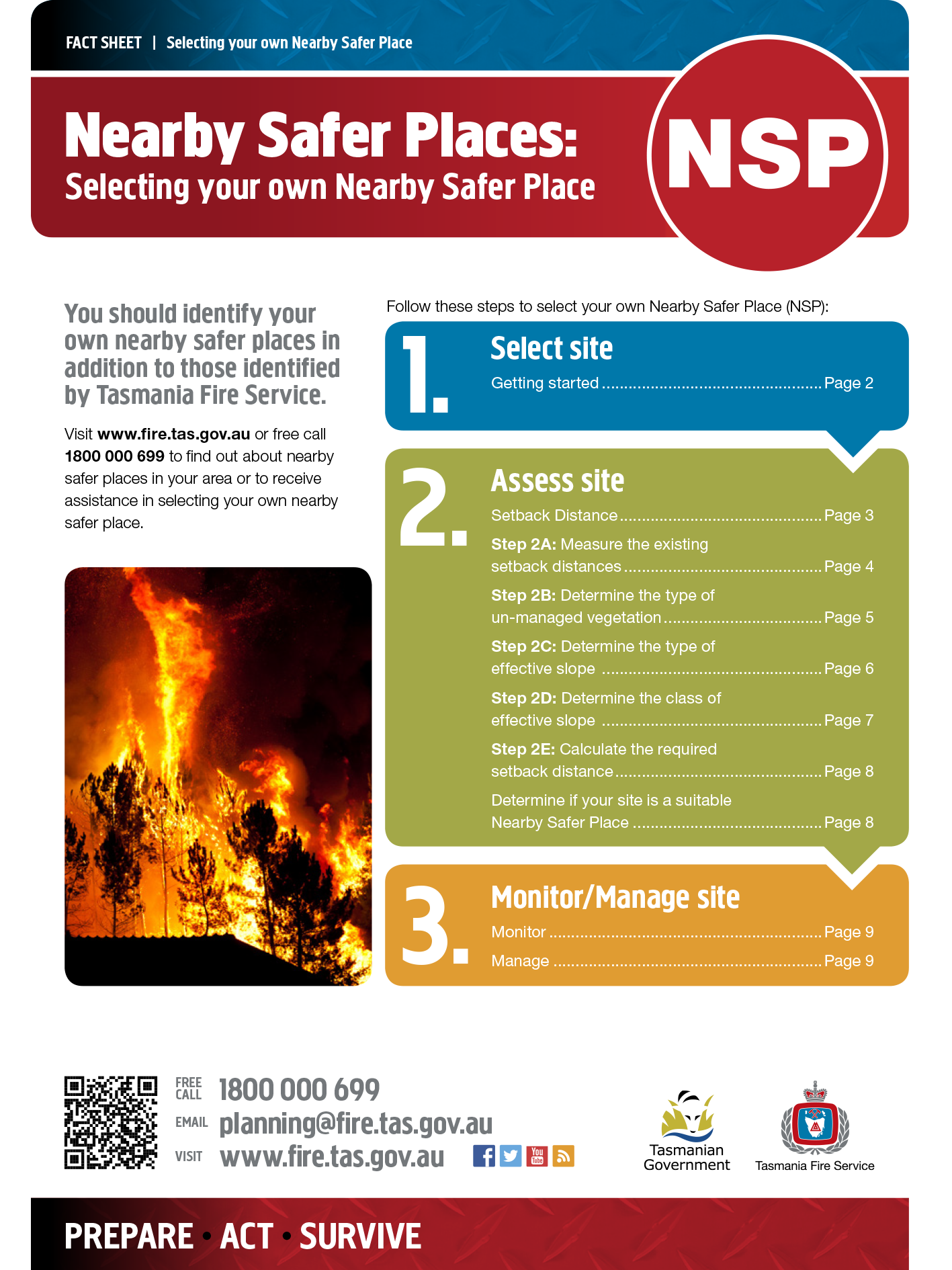 NSP Selecting Your own Factsheet