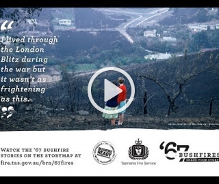 '67 Bushfires - Fighting for their Lives. '67 bushfires story medley.